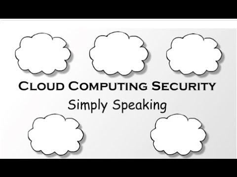 Cloud Computing Security - Simply Speaking