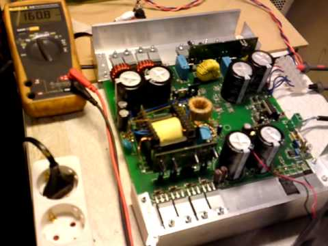 Amplifier Schematic Diagram Audio Power Smps 2kw Youtube