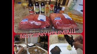 BEST BEEF JERKY RECIPE IN 10 MIN!!! YOU WILL NEVER USE ANOTHER!!!