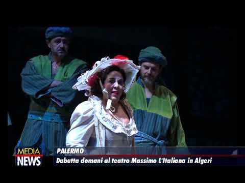 Palermo, L'italiana in Algeri al Teatro Massimo da 23 novembre