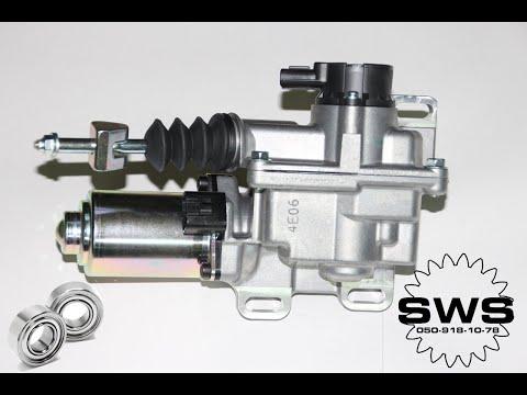 Установка, настройка актуатора сцепления Toyota Corolla/Clutch Actuator replacement & initialization