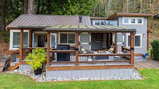 Amazing Beautiful Custom Cottage For Sale by WildWood Lakefront Cottages | Tiny House Big Living