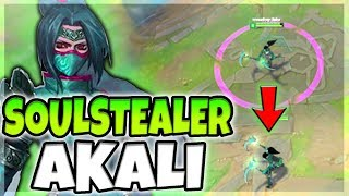 soulstealer akali skin spotlight new particle changes for all spells amazing league of legends