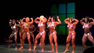 2014 Toronto Pro supershow IFBB pro bodybuilding comparisons finals