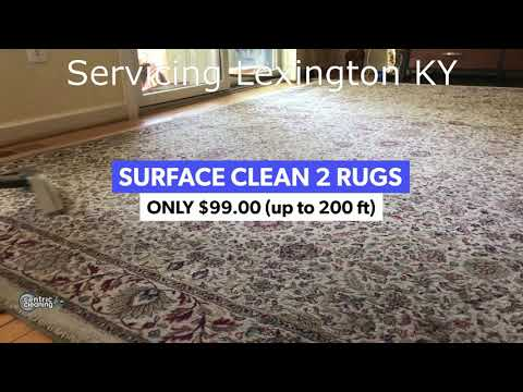 Rug Cleaning Lexington KY - Oriental Rugs - Centric Cleaning