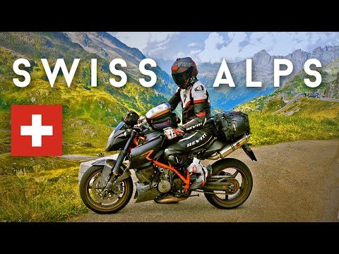Beautiful Switzerland Motorcycle Trip in the Alps