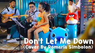 The Chainsmokers  - Don't Let Me Down Cover by Romaria Simbolon