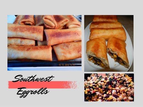 Recreating Chili's Appetizer - Southwest Eggrolls || Remake