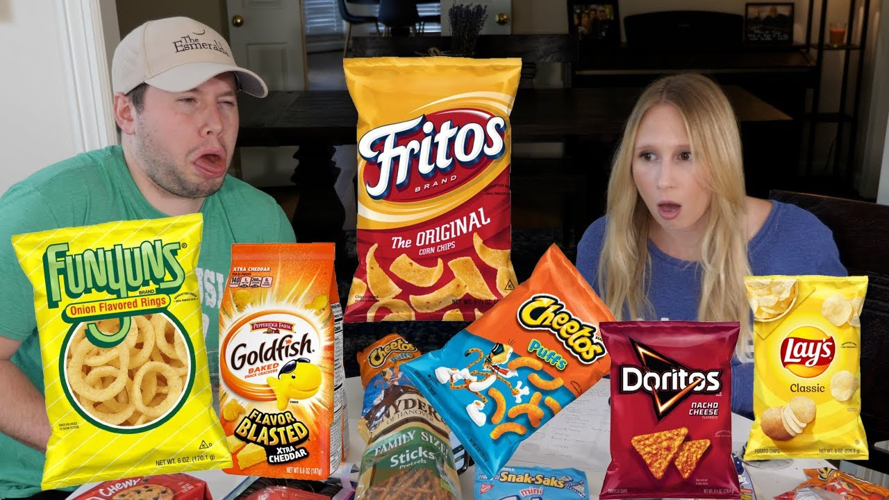 SNACK WAR: Ranking American Snacks