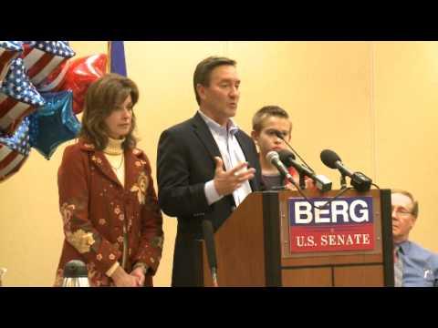 Rep. Rick Berg Concedes to Heidi Heitkamp - Speech