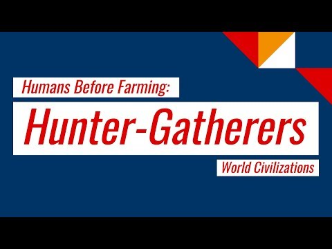Hunter-Gatherers Overview