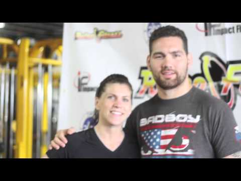 Retro's Most Fit! Bellmawr, NJ with MMA Champ Chris Weidman