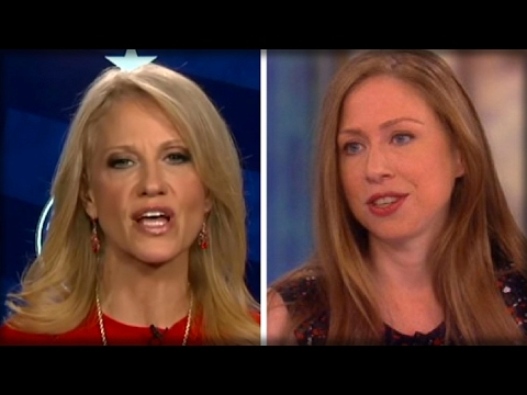 LOOK: WHAT CHELSEA CLINTON JUST DID TO KELLYANNE CONWAY INSTANTLY TURNS HEADS THEN BACKFIRES BADLY