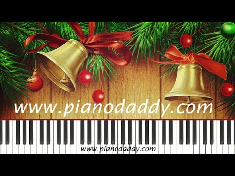 Jingle Bells (Christmas Special) Piano Lesson With Staff ~ Piano Daddy