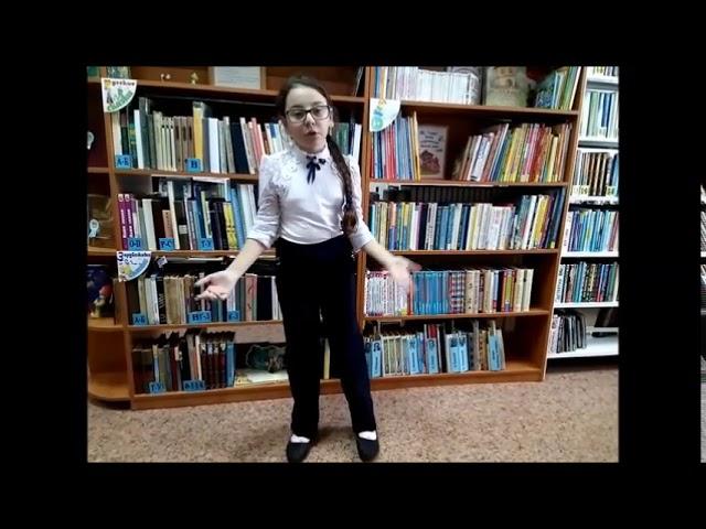 Изображение предпросмотра прочтения – КристинаСаркисян читает произведение «За книгами» М.И.Цветаевой