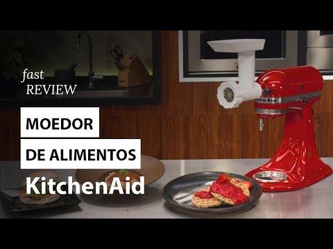 Moedor de Alimentos para Stand Mixer KitchenAid   Fast Review   Fast Shop