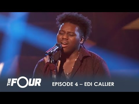 Edi Callier: Young Artist With AWESOME Voice Comes To Eat! | S1E4 | The Four