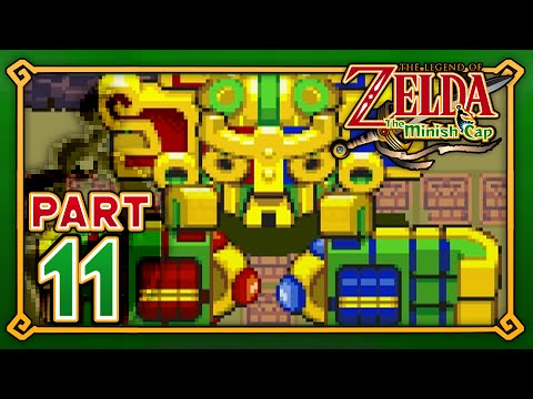 The Legend of Zelda: The Minish Cap - Part 11 - Fortress of Winds!