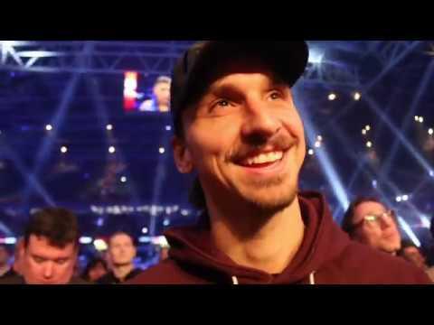 'I WANT TO SEE JOSHUA v WILDER!' - ZLATAN IBRAHIMOVIC REACTS TO JOSHUA'S 10th ROUND TKO OF TAKAM