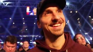 'I WANT TO SEE JOSHUA v WILDER!' - ZLATAN IBRAHIMOVIC REACTS TO JOSHUA'S 10th ROUND TKO OF TAKAM
