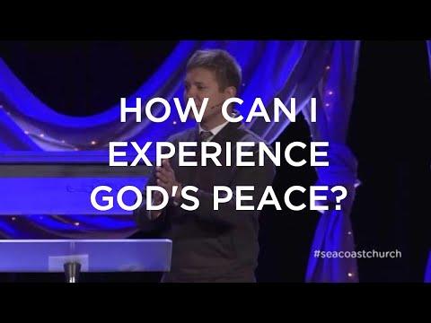How Can I Experience God's Peace?