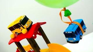 Мультики про машинки: Автобус ТАЙО и его друзья. День рождение. #ТАЙО на русском