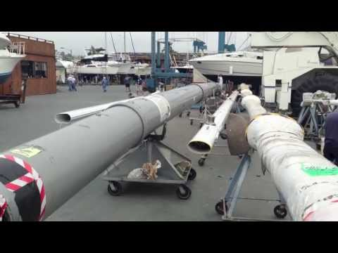 Jeanneau 509 Sun Odyssey Sailboat Mast & How they ship from France