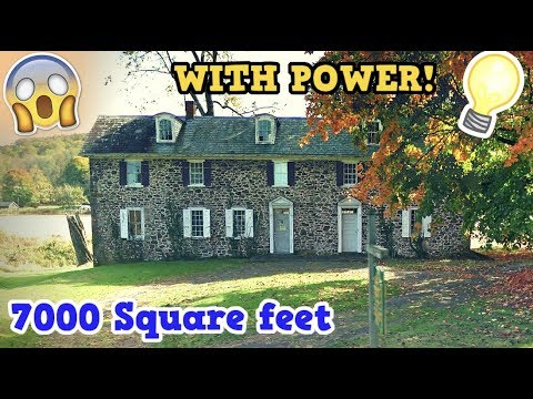 Abandoned Stone Mansion (Crazy Maze Layout)