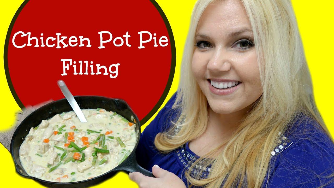 How To Make CHICKEN POT PIE FILLING Recipe - Gluten Free! - YouTube