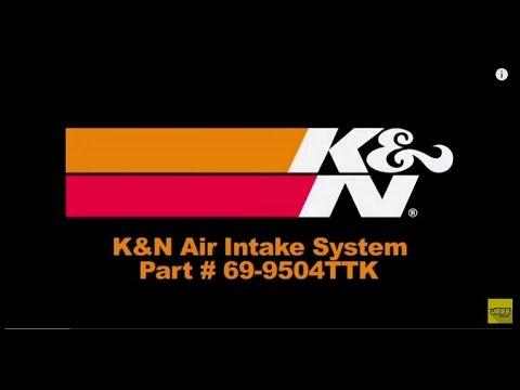 K/&N 69-9504TTK 69 Series Typhoon Air Intake Kit