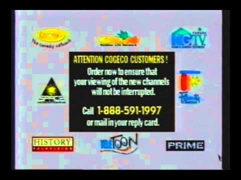 1997 - Cogeco Cable Promo