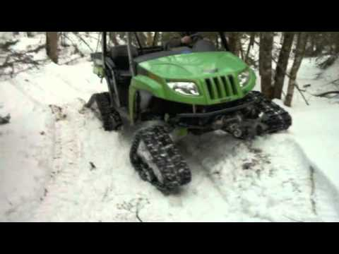 Arctic Cat Prowler >> 2007 Arctic Cat Prowler XT H1 650 with TJD tracks - YouTube