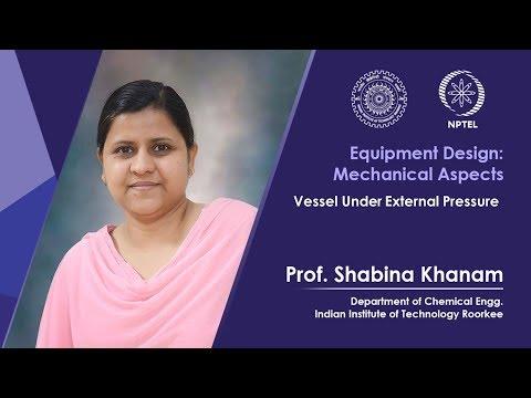 Vessel under external pressure-1