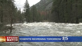Flooding at Yosemite National Park Much Less Serious Than Anticipated