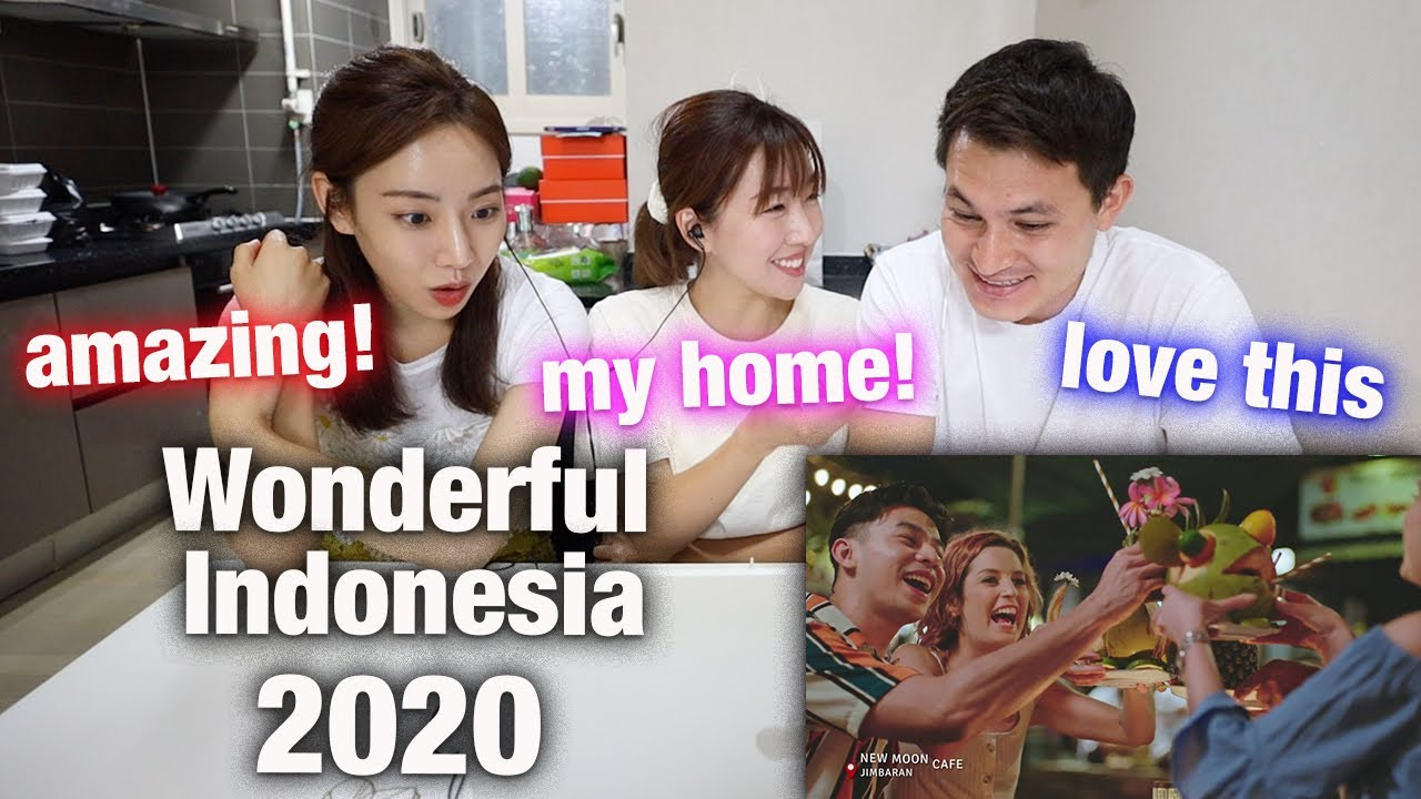 KOREAN ACTRESS REACTS TO Wonderful Indonesia 2020 | BEST INDONESIAN TRAVEL VIDEO