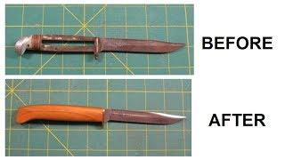 Fixed Blade Knife Restoration