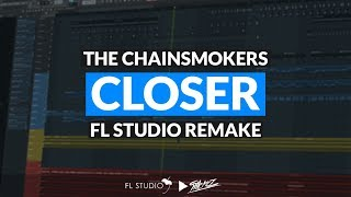 The Chainsmokers - Closer ft. Halsey (Instrumental/FL Studio Remake)