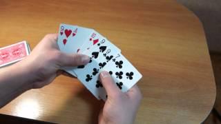 Бесплатное обучение фокусам #12: Фокусы для начинающих. Карточные фокусы для уличной магии.