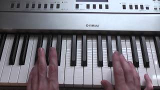 How to play Coldplay - Death And All His Friends on piano