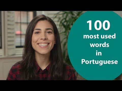 Most important vocabulary in Portuguese  Speaking Brazilian