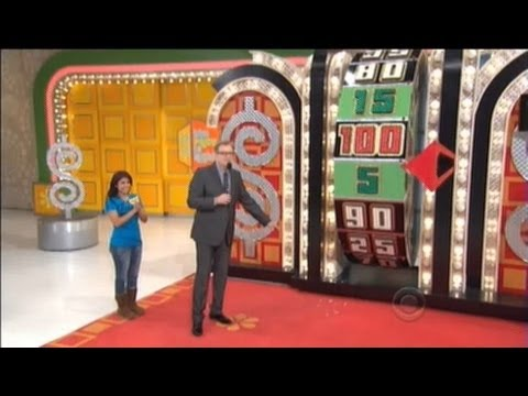 Price Is Right - Contestant Shatters Big Wheel Light (Apr. 15, 2013)
