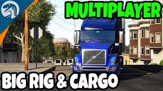 BIGGEST CONVOY & LARGEST CARGO  | American Truck Simulator Multiplayer Gameplay