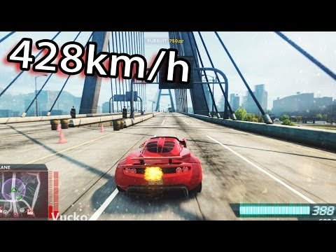 NFS Most Wanted 2 – Hennessey Venom 428km/h