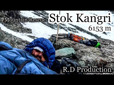 How i saved his life | Stok Kangri 6153m | Mountain Rescue | Ladakh | Jaha Chan Buddha Ka Aankha