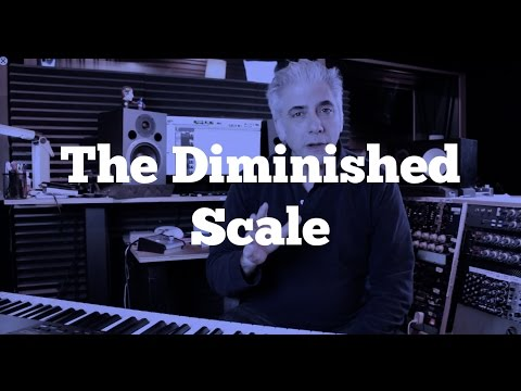 Music Theory -The Diminished Scale