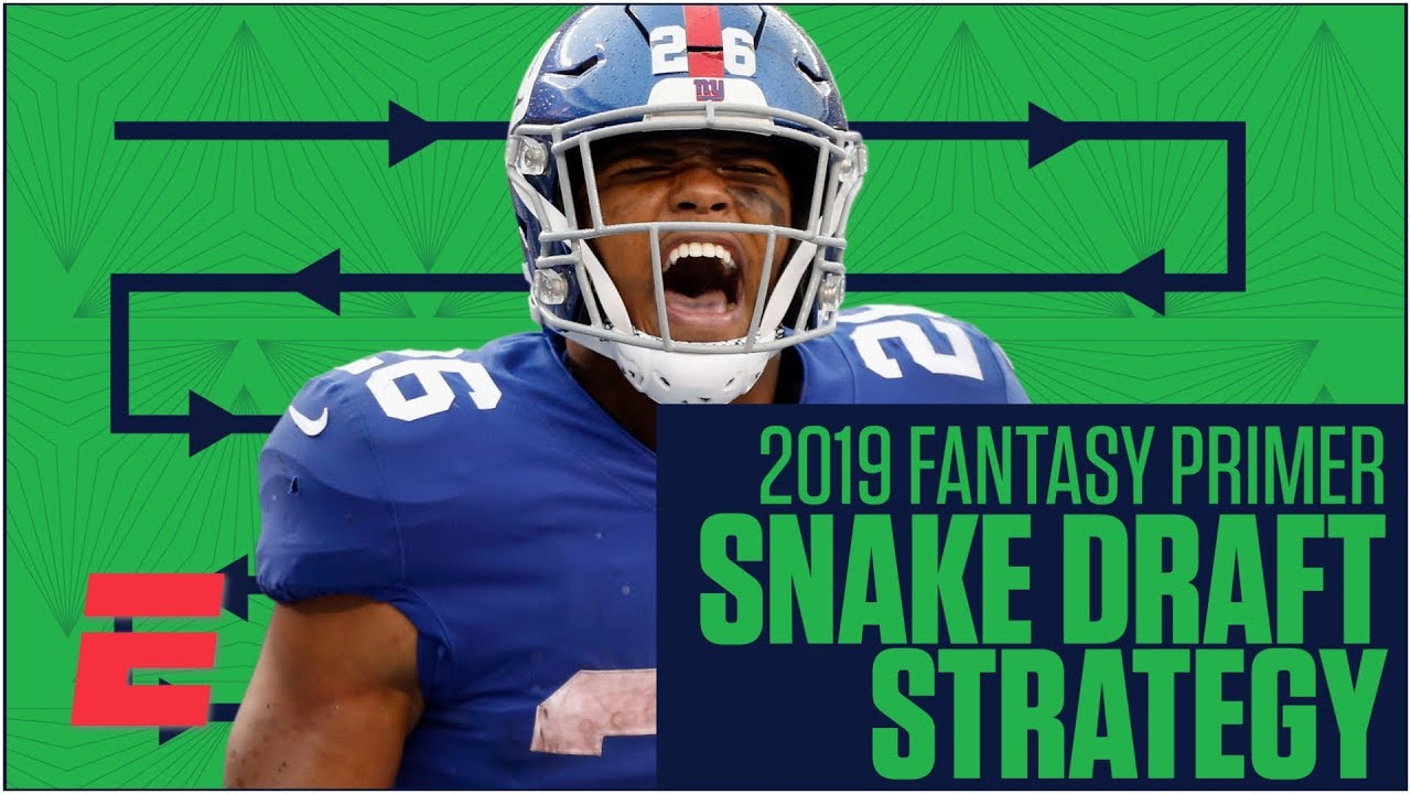 How to prepare for a snake draft in fantasy football | 2019 Fantasy  Football Primer