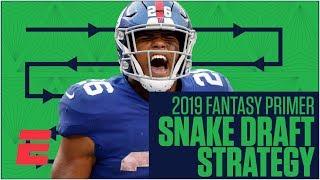 Saquon Barkley as top pick is key to winning a snake draft | 2019 Fantasy Football Primer