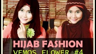 Hijab Fashion | 2 Of 13 Hijab Styles: VEMOS FLOWER Series by Didowardah - Part #4
