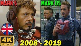 😎 All IRON MAN Suit. Transformation Scene Ultra HD (Iron man 2008 — Avengers: Endgame 2019)