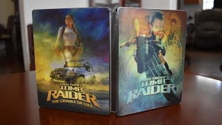 Custom Steelbook Big Reveal! Tomb Raider Custom Steelbook and Showcase!